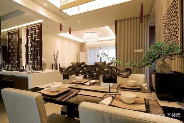 朝阳江上院中式风格装修效果图实景图