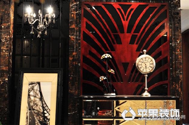 中海朝阳郡·铂宫欧式风格装修效果图实景图