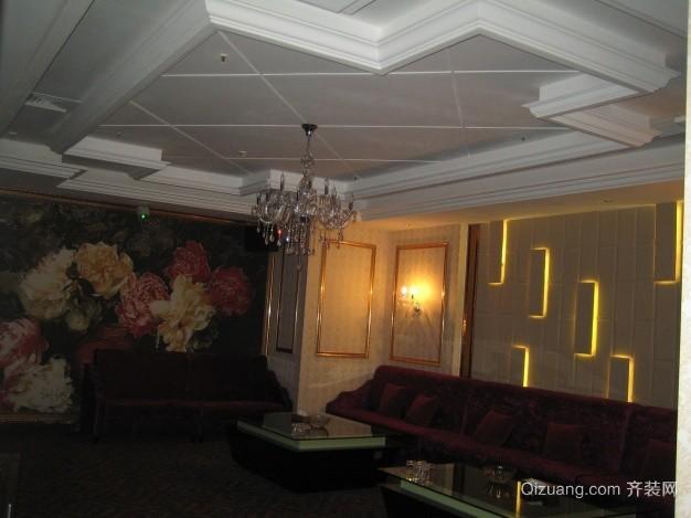 华美达酒店ktv包间欧式风格装修效果图实景图