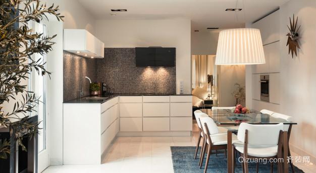 保定市南市区贵人公寓现代简约装修效果图实景图