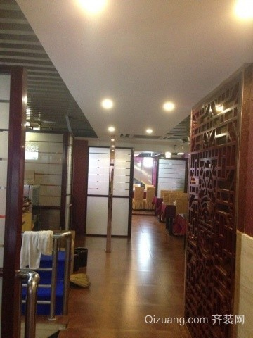 饭店中式风格装修效果图实景图