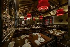 平顶山醉爱川菜酒楼餐厅设计效果图