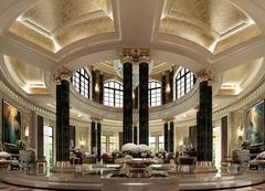 南充喜来登商务酒店设计装饰效果图