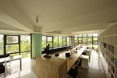 文成广告策划设计公司办公室装修设计案例