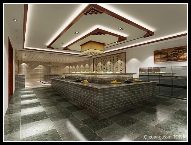 草塔饭店中式风格装修效果图实景图