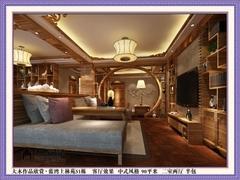 蓝湾上林苑51栋  中式风格
