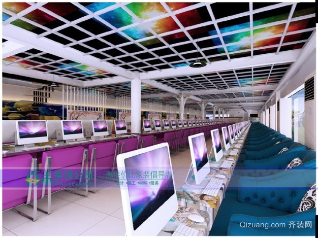 玉泉商业街现代简约装修效果图实景图
