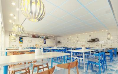 信丰餐厅装修设计案例