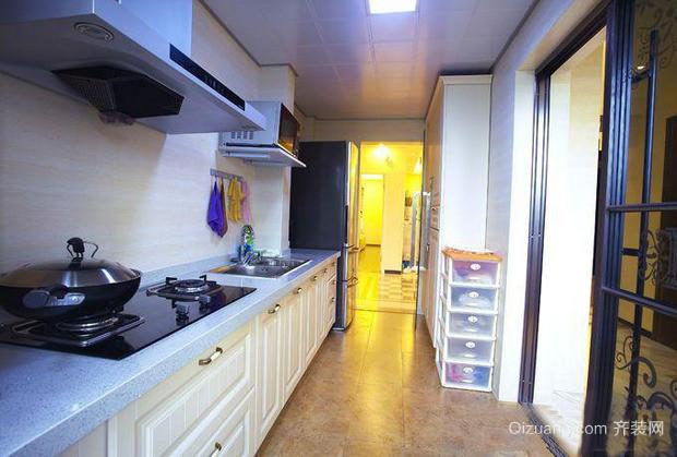 新景观公寓混搭风格装修效果图实景图