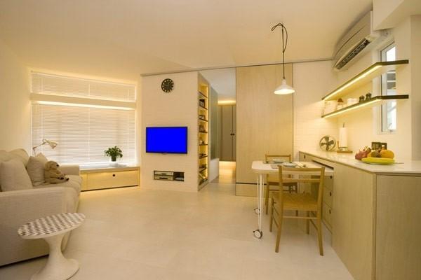 天锐益城 90平米普通户型现代简约家装装修图高清图片