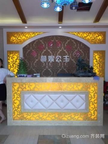 东方龙城门面美式风格装修效果图实景图