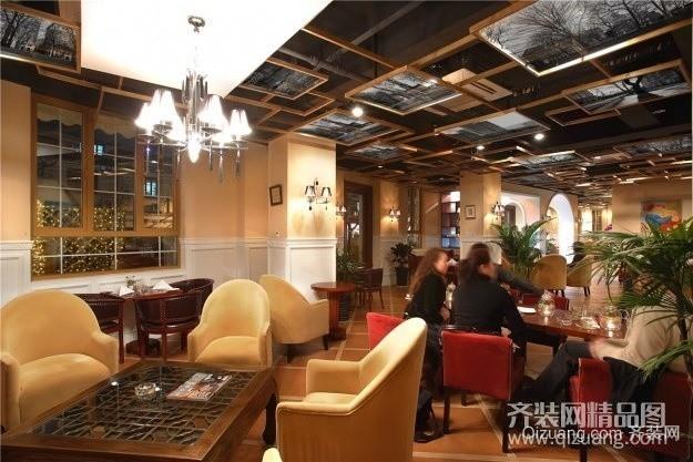 酒吧欧式风格装修效果图实景图