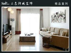 88平米普通户型古典风格家装装修图片设计 苏州齐装网装修效果图