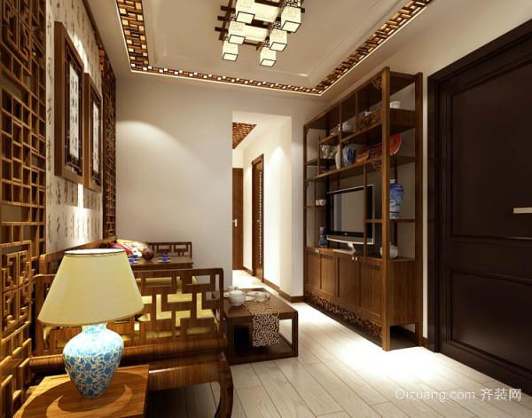 华侨城中式风格装修效果图实景图