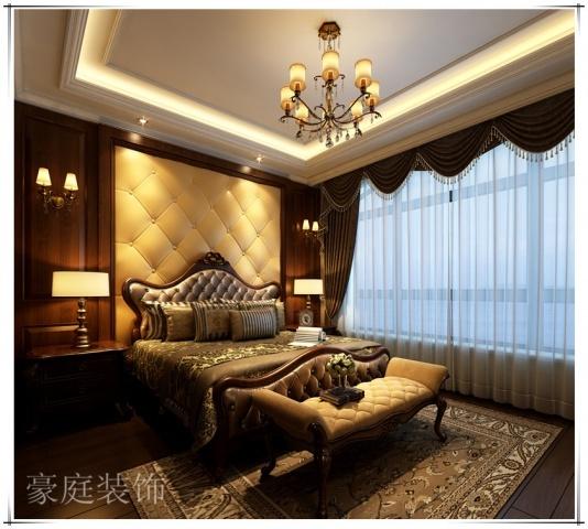 金色蓝庭排屋古典风格装修效果图实景图
