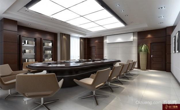 投资大厦中式风格装修效果图实景图
