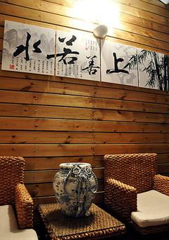 中式风格- 丽景蓝湾