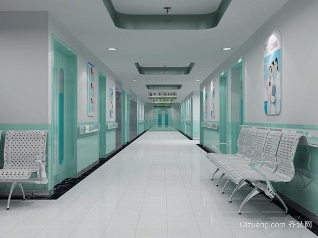医院现代简约装修效果图实景图