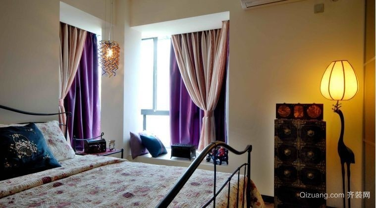 新景观公寓中式风格装修效果图实景图