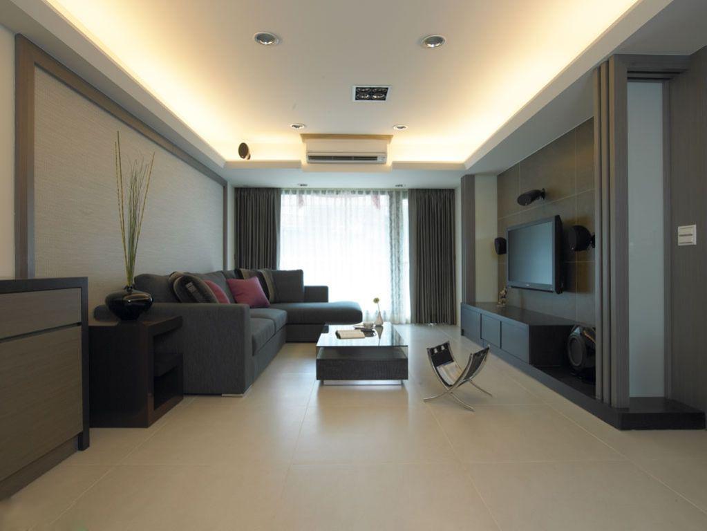 山湖一号 120平米普通 户型 现代简约家装装修图高清图片