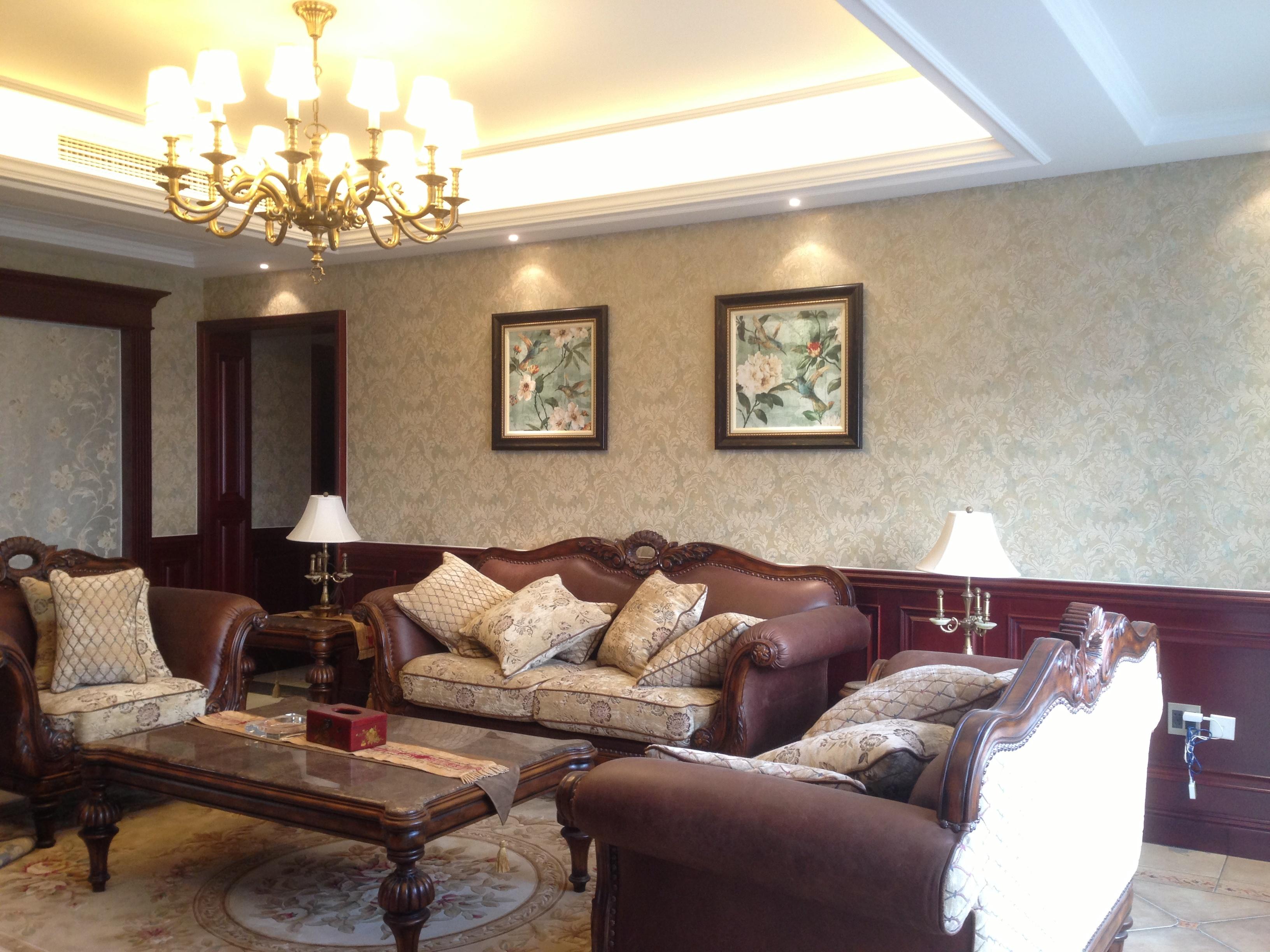 兰溪自建别墅美式风格装修效果图实景图