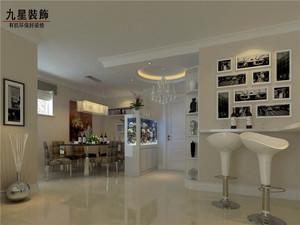 98平米普通户型现代简约家装装修图片设计 合肥齐装网装修效果图高清图片