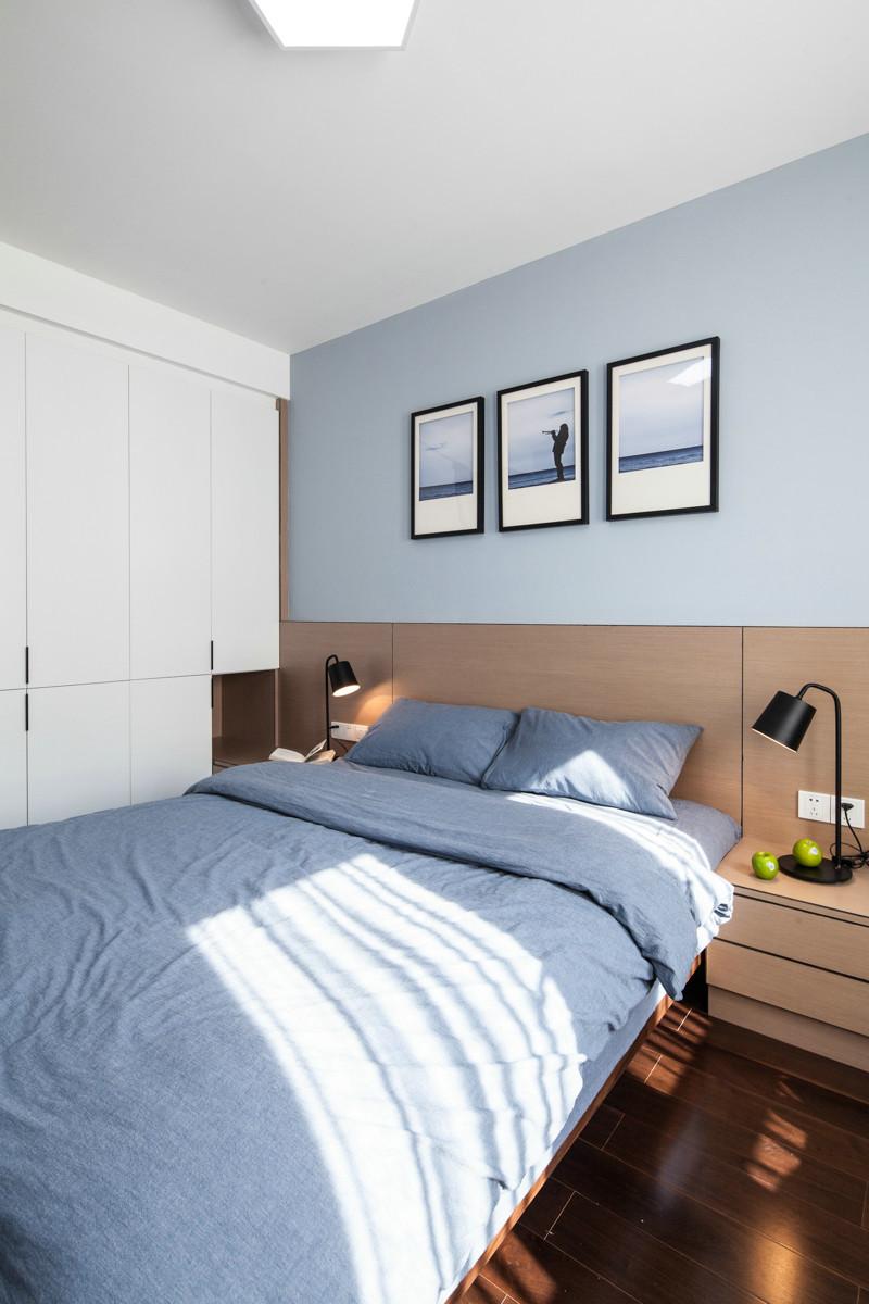 阳光景庭 90平米普通 户型 现代简约家装装修图高清图片