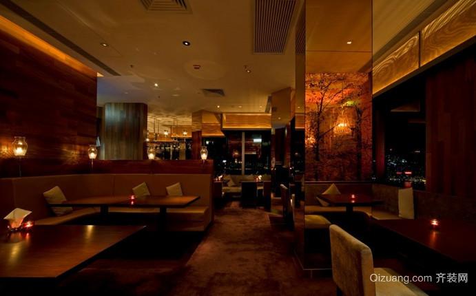 餐厅古典风格装修效果图实景图