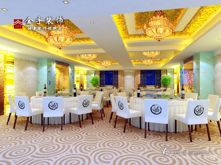 新华电宾馆现代简约装修效果图实景图