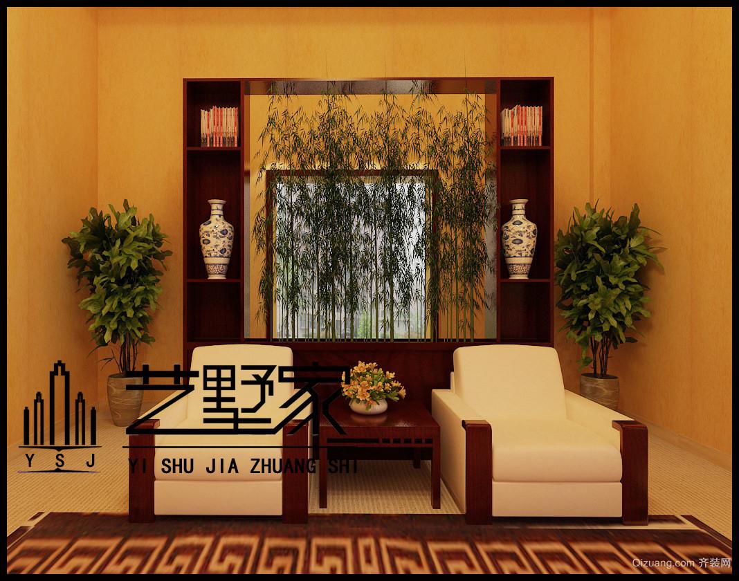 会议室中式风格装修效果图实景图