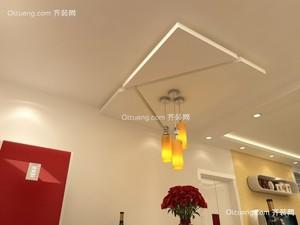 100平米普通户型现代简约家装装修图片设计 杭州齐装网装修效果图