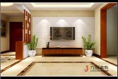 中铁国际城简中雅居案例中式风格装修案例