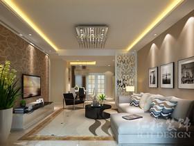 6万打造86平现代简约风格的家