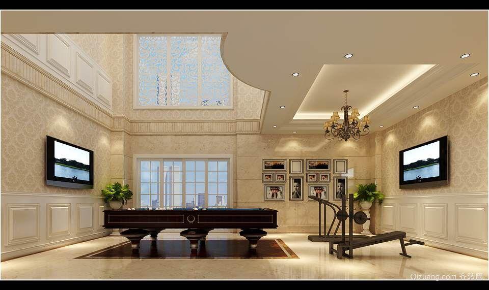 绿地玫瑰城欧式风格装修效果图实景图