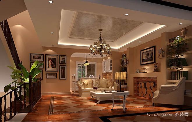九龙凤凰山庄280平米风格欧式别墅家装装修图花园别墅南京图片