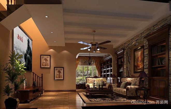南京凤凰家装280平米别墅欧式山庄风格装修图别墅逸峰图片