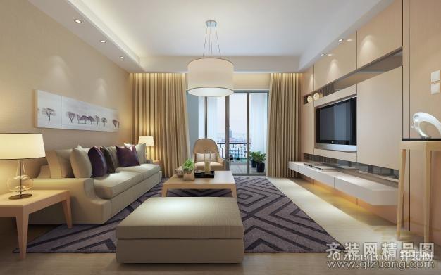 东锦花园现代简约装修效果图实景图
