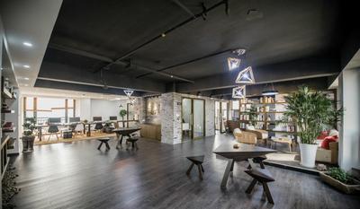 潘集公司 经理办公室装修设计案例