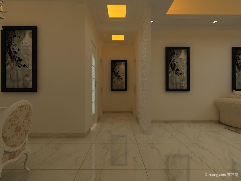 尚城国际现代简约装修效果图实景图