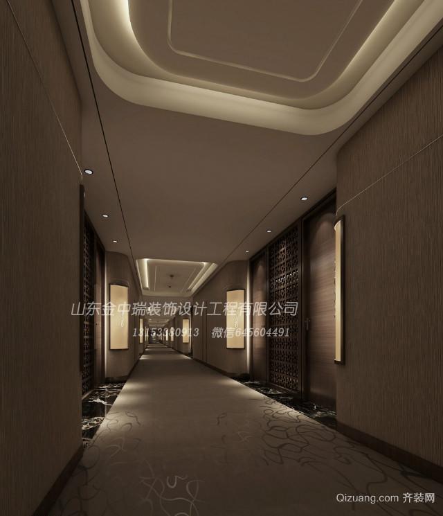 枫叶酒店现代简约装修效果图实景图