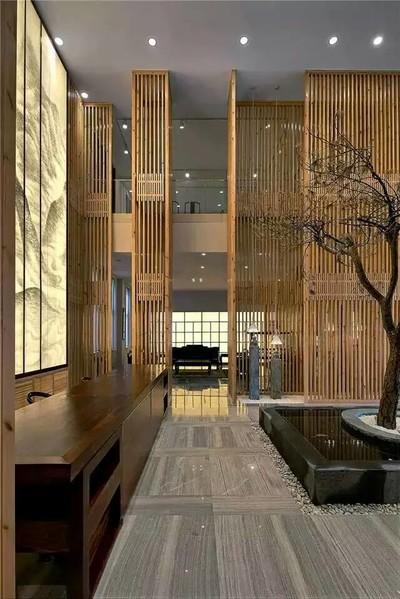 杭州中式茶餐厅装修设计案例