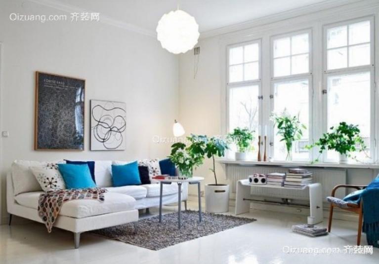 盛泰家园欧式风格装修效果图实景图