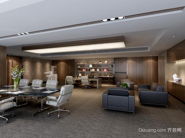 办公室欧式风格装修效果图实景图