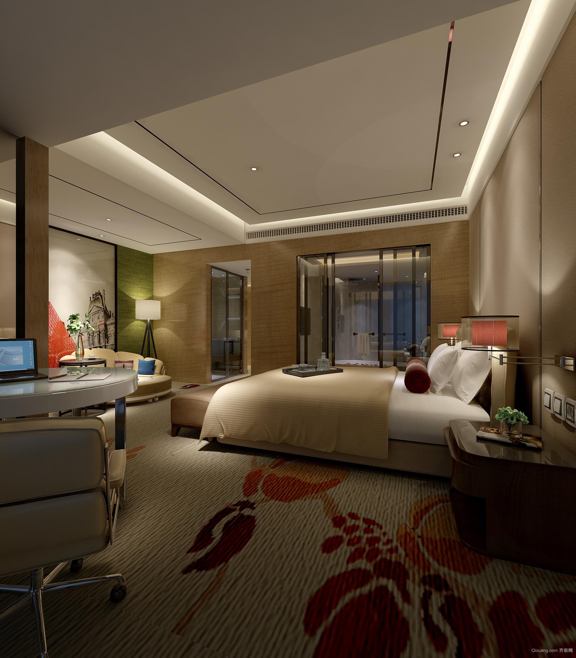如意酒店中式风格装修效果图实景图