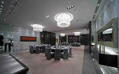 大連餐廳大廳裝修設計案例