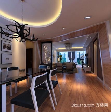 红梅公寓现代简约装修效果图实景图