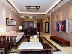东城明珠中式风格装修案例