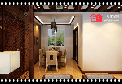 合(he)肥恆(heng)盛豪庭120三(san)室(shi)兩廳裝修設計案例
