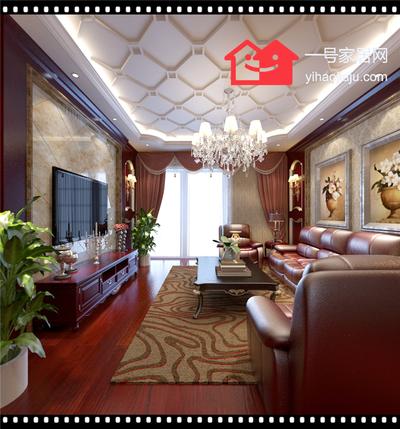 合(he)肥廣視(shi)花園(yuan)119三(san)室(shi)兩廳裝修設計案例