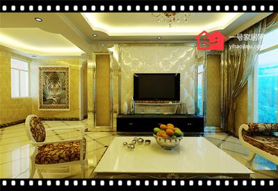 合肥江南新里程133㎡四室两厅装修设计案例